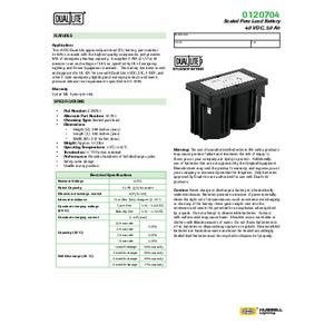 0120704 Spec Sheet