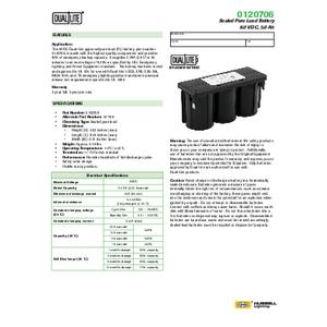 0120706 Spec Sheet