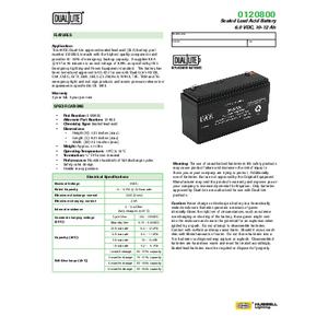 0120800 Spec Sheet