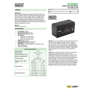 0120803 Spec Sheet