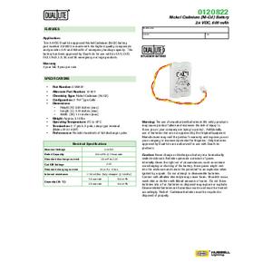 0120822 Spec Sheet