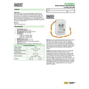 0120894 Spec Sheet