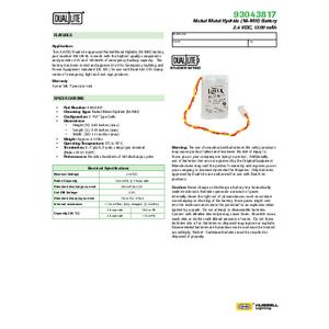 93043817 Spec Sheet