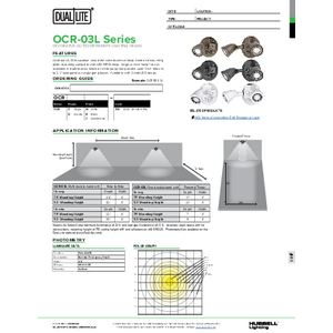 Remote Heads specification sheet