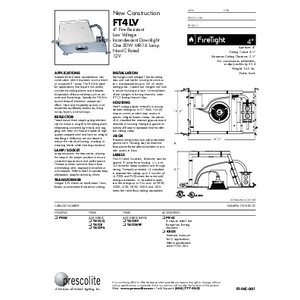 FT4LV Specification Sheet