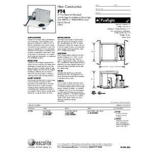 FT4 Specification Sheet