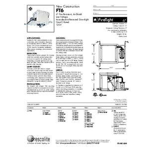FT6 Specification Sheet