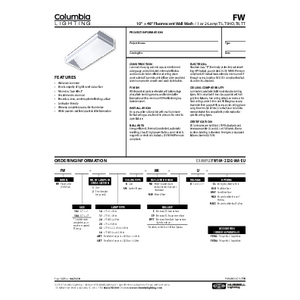 FW Specification Sheet