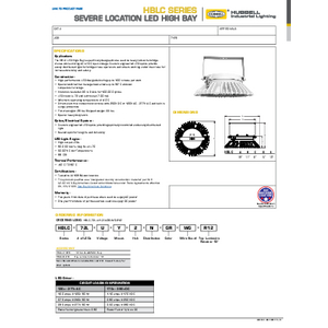 HBLC Specification Sheet
