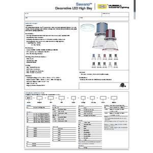 Savvano Specification Sheet