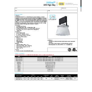 UTB Specification Sheet