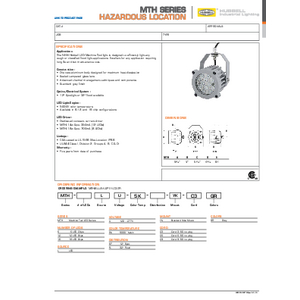 MTH Specification Sheet