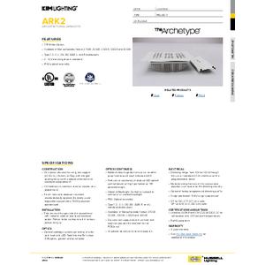 AR Kit Spec Sheet