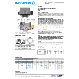 J1353 4000/5000lm Specification Sheet