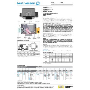 J2333_35_37 4000/5000lm Specification Sheet