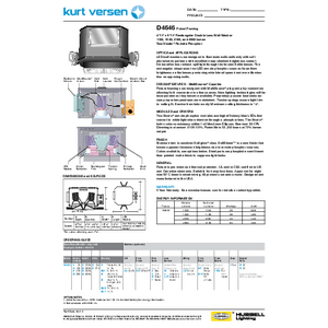 D4646 Specification Sheet