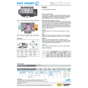 F1355 1100-2800 Lumen Specification Sheet