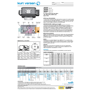J2333_35_37 Specification Sheet