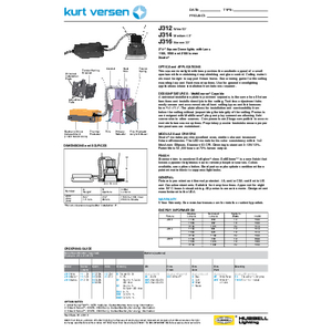 J312_14_16 Specification Sheet