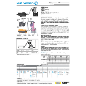 J343_45_47 Specification Sheet
