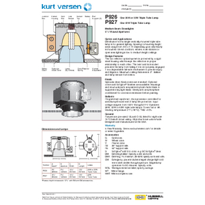 P926_27 Specification Sheet