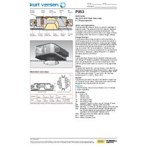 P953 Specification Sheet