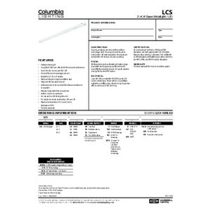 LCS Specification Sheet