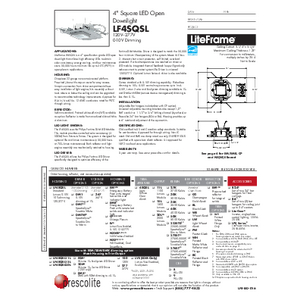 LF4SQSL Open Specification Sheet