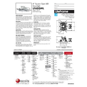 LF6SQML Open Specification Sheet