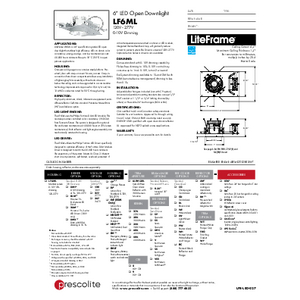 LF6ML Open Specification Sheet