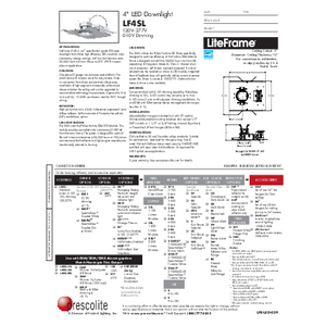 LF4SL Open Specification Sheet