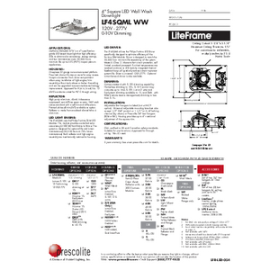 LF4SQML WW Specification Sheet