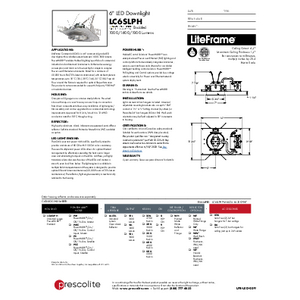 LC6SLPH PowerHUBB Specification Sheet