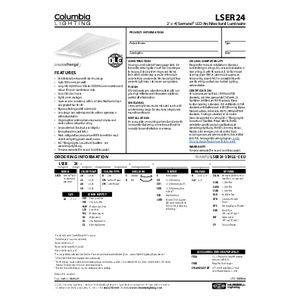 LSER24 Specification Sheet