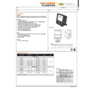 MVH Specification Sheet