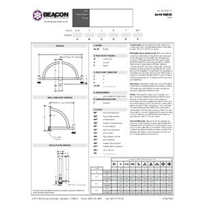 Radius Specification Sheet