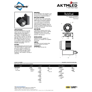 AKTMLED Specification Sheet- Security Lighting