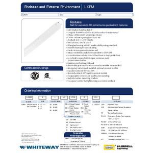 LXEM spec sheet