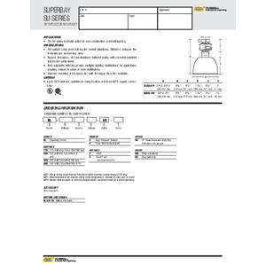 Superbay SU Specification Sheet