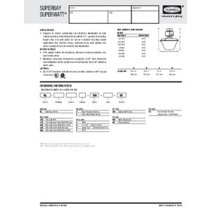 Superbay BL-SW Specification Sheet