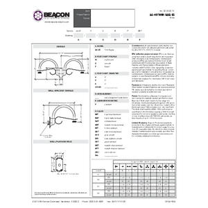 Twin Eagles Specification Sheet