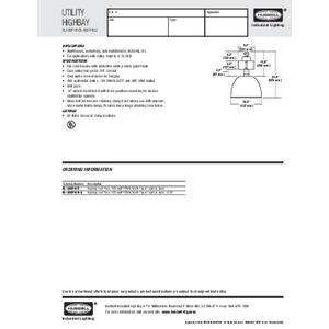 BL400PHB / BL400PHBQ Specification Sheet