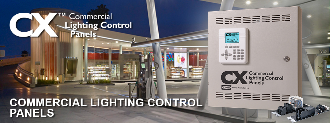 CX Commercial Lighting Control Panels System | Brand | Hubbell Control Solutions