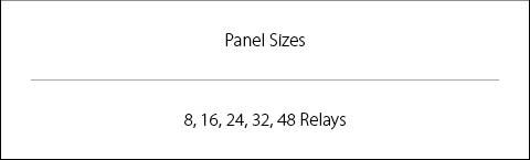 NX Panel Sizes Image