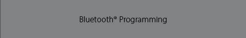 NX Bluetooth Programming Overlay Image