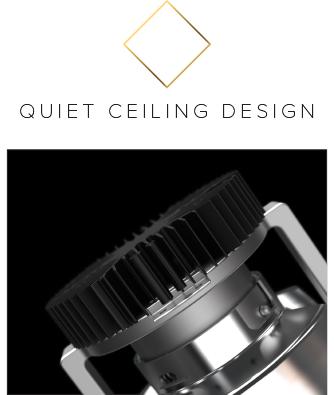 Quiet Ceiling Design