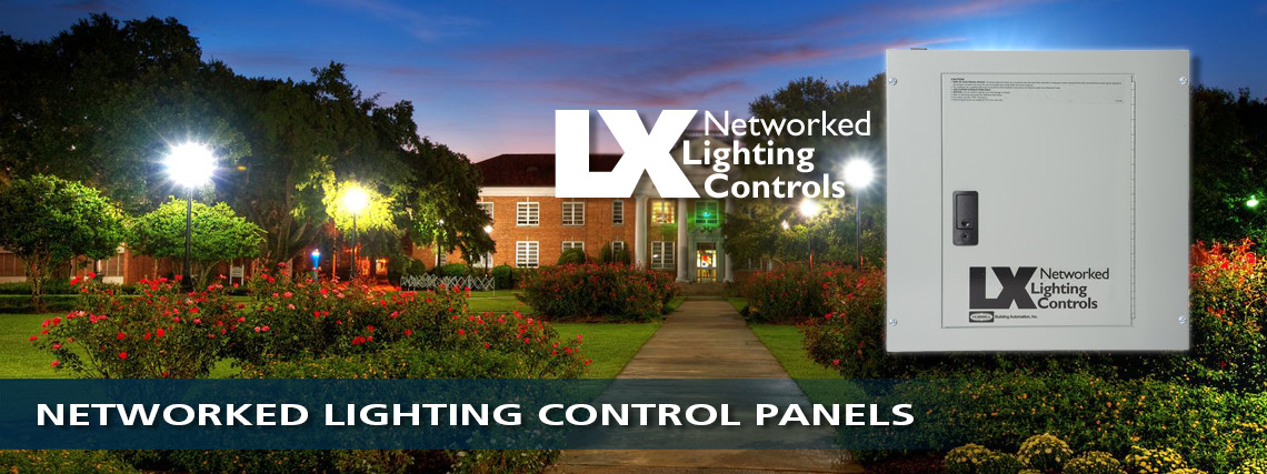 Networked Lighting Control Panels