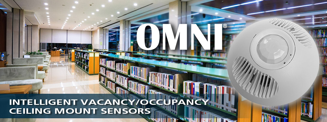 OMNI Ceiling Mount VacancyOccupancy Sensor Product Line Brand