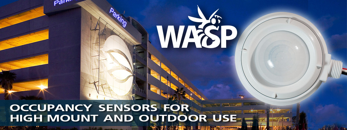 Occupancy Sensors for high-mount and outdoor use