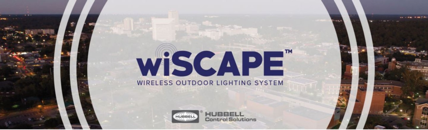 Wiscape Wireless Outdoor Lighting System Hubbell Control